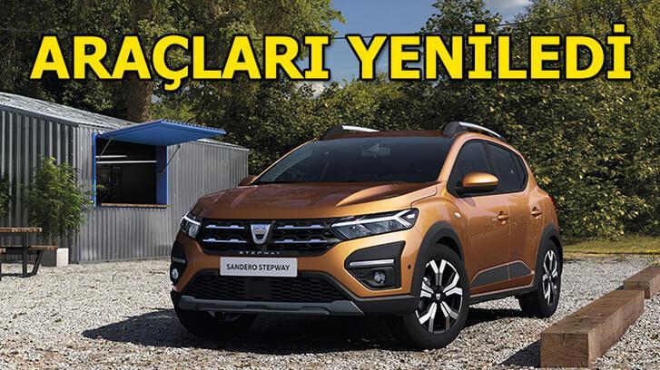 Dacia araçlarını yeniledi!