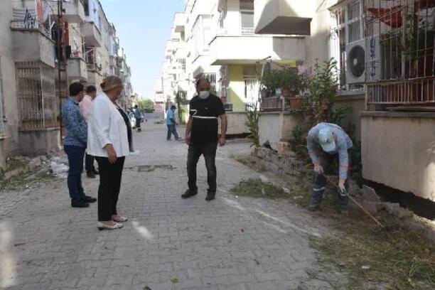 Başkan Erdem, temizlik çalışmalarını yerinde inceledi