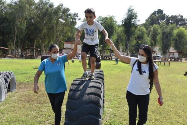 Özel çocuklar doğa ile iç içe bir gün geçirdi
