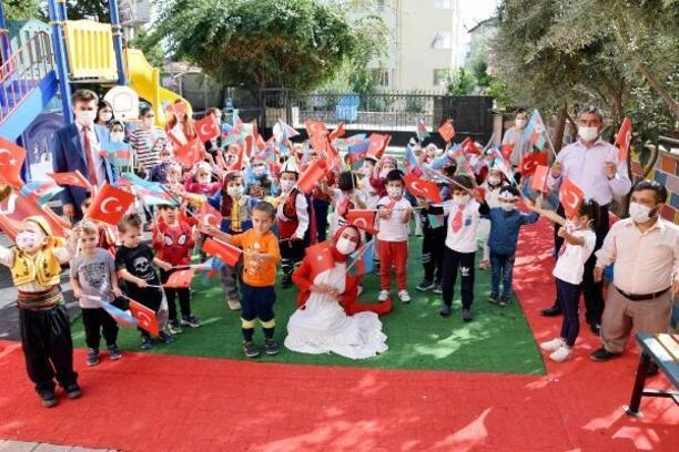 Kumluca'da 29 Ekim töreni
