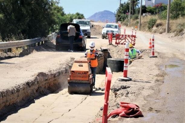 Bodrum kanalizyonunun 46 kilometresi tamamlandı