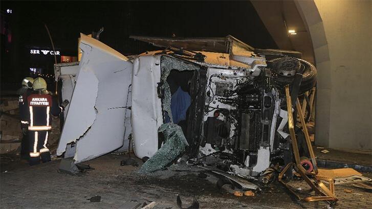 Ankara'da feci kaza! Hayatını kaybetti
