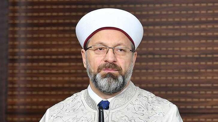 Diyanet İşleri Başkanı Erbaş'tan İskeçe Müftüsü Mete'ye tehdit mesajına kınama