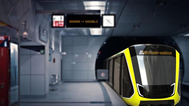 Türkiye'nin ilk yerli metro seti Kocaeli Metrosu için Ankara'da üretilecek