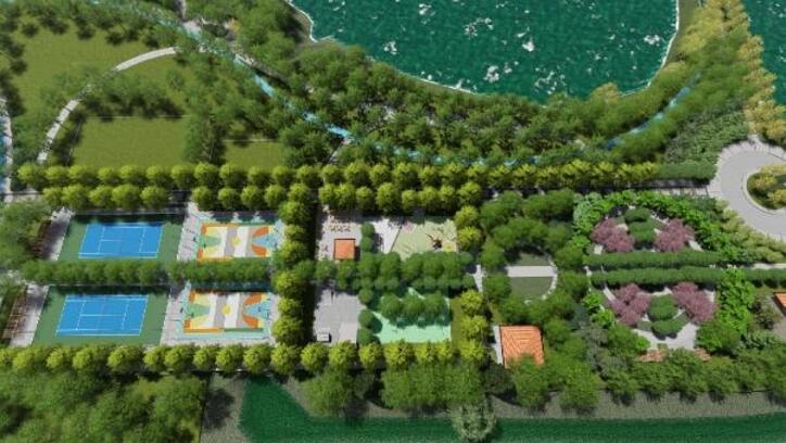 Kırıkkale'de Millet Bahçesi'nin inşaatı başladı