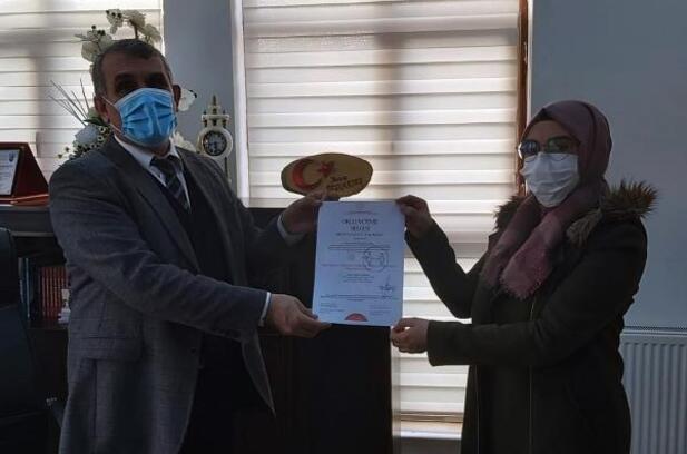 """Adilcevaz'da """"Okulum Temiz Projesi"""" kapsamında 28 okula belge verildi"""