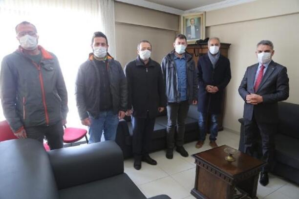 Vali Özkan'dan gazetecilere ziyaret