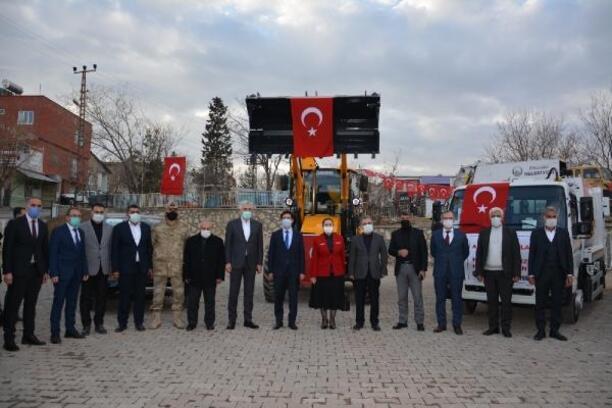 Ergani Belediyesi'nde araç filosu genişletildi