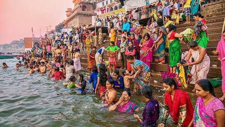 Kutsal nehir Ganj