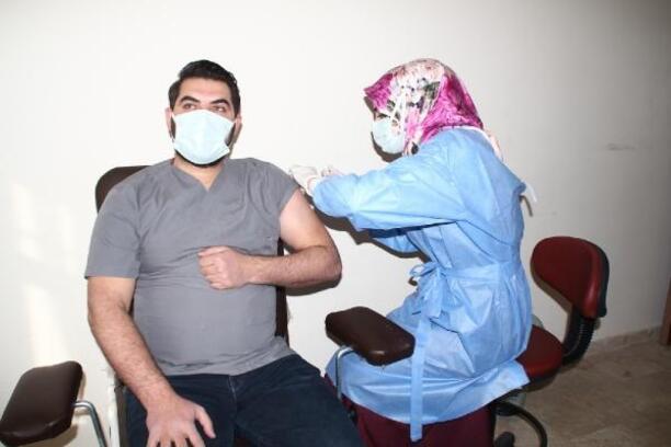 Yunak'ta aşı çalışması başladı