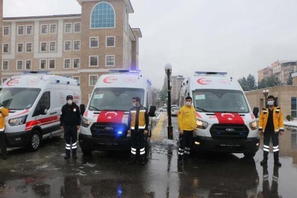 Adıyaman'a 8 yeni ambulans