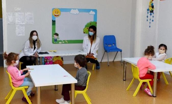 Muratpaşa, kreşini sağlık çalışanları için açtı