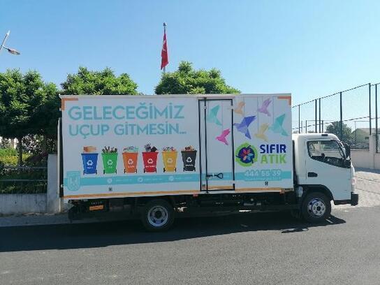Lüleburgaz'da, atık malzemeler toplanmaya devam ediyor