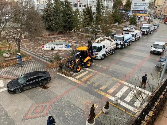 Emet Belediyesi araç filosunu 7 araçta güçlendirdi