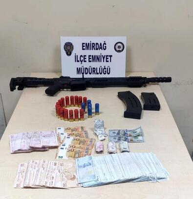 Emirdağ'da uyuşturucu operasyonu