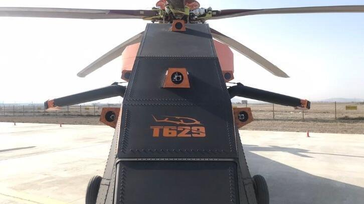 Hem insansız hem de elektrikli T629 ilk kez görüntülendi!