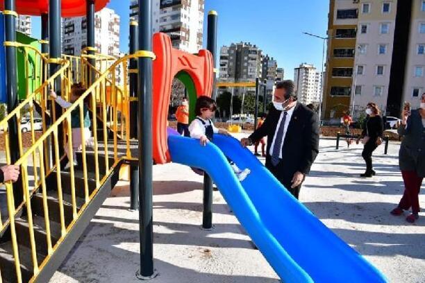 Park Çukurova'dan, fidanlar vatandaştan