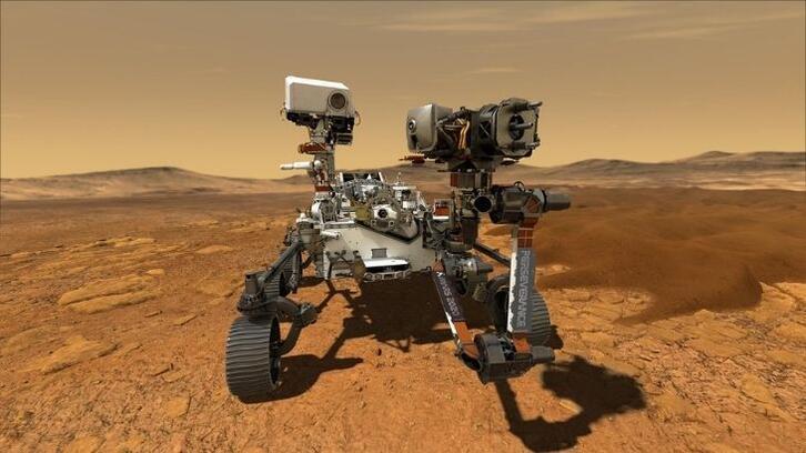 Perseverance'tan Mars panoraması gözler önüne serildi!
