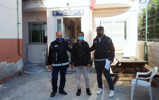 Osmaniye'de Afganistan uyruklu göçmen yakalandı