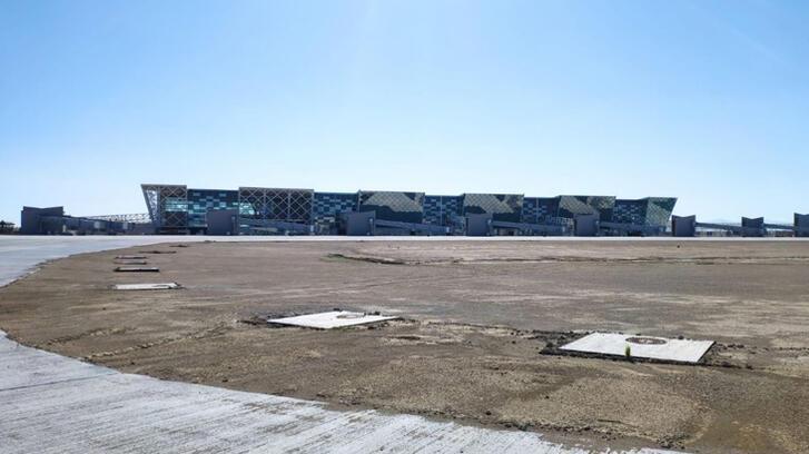 Kıbrıs'ın en büyük havalimanında sona geliniyor