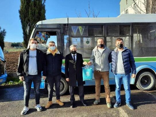 Süleymanpaşa Belediyesi'nde 'Gönül Elçileri' projesi sürüyor