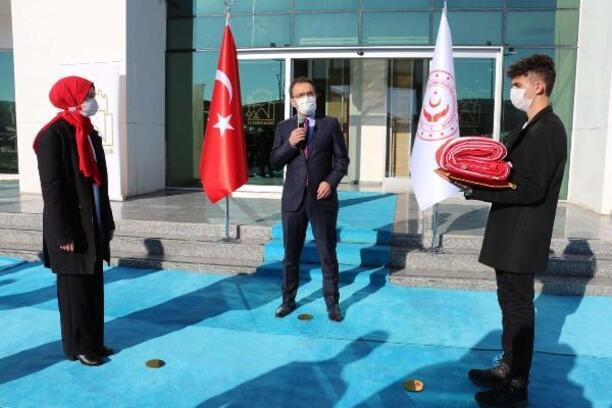 'Anadolu Gönül Yolu' projesinin ay-yıldızlı bayrağı Çankırı'dan uğurlandı