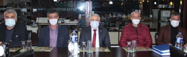 Bucak Belediye Oğuzhanspor'dan BAL hazırlık toplantısı