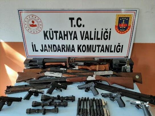 Jandarmadan silah atölyesine operasyon