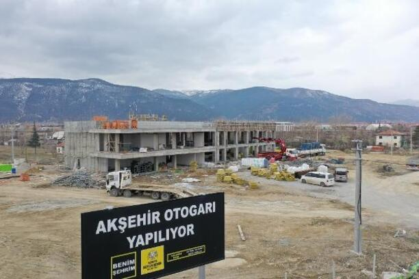 Akşehir'e yeni otogar binası kazandırılıyor