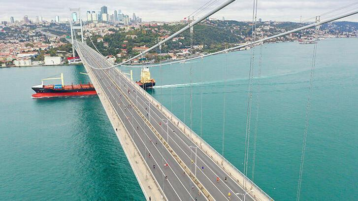 İstanbul'daki modern köprüler