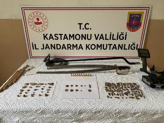 Tosya'da tarihi eser operasyonu: 1 gözaltı