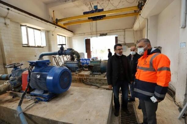 DİSKİ, Ergani'deki pompa istasyonunu yeniledi