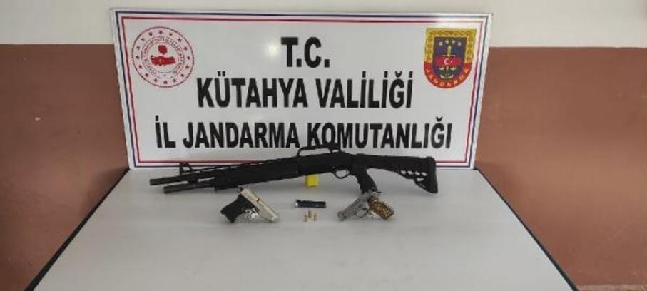 Kütühya'da kaçak silah operasyonu