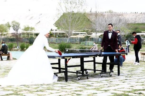 Dünya Masa Tenisi Günü, 'Beyaz Cennet'te kutlandı