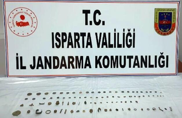 Isparta'da tarihi eser operasyonları