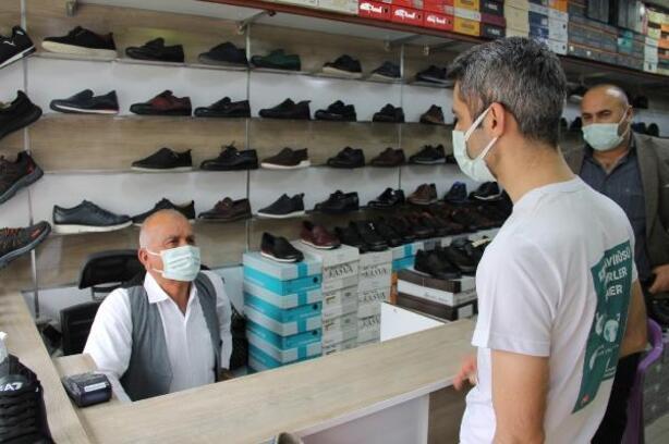 Silopi'de, koronavirüse karşı bilgilendirme çalışması