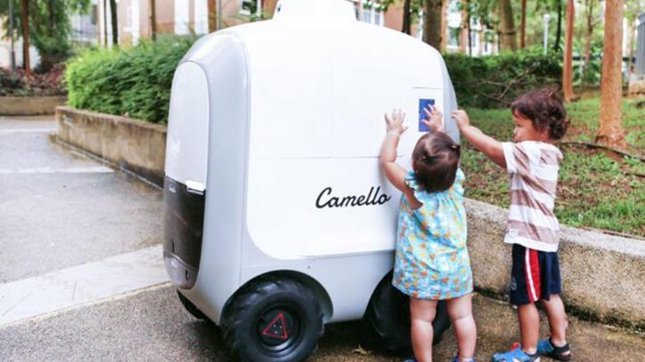 Alışverişlerin teslimatında robotlar kullanılmaya başlandı!