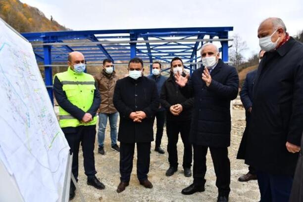 Trabzon'da 2 ilçenin 100 yıllık su ihtiyacı giderilecek