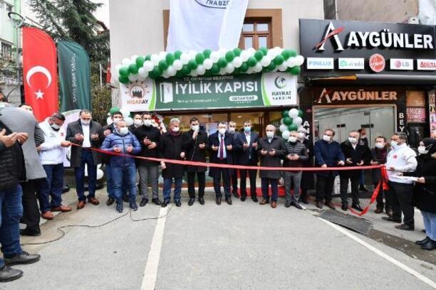 Ortahisar'da 'iyilik kapısı hisaray' hizmete açıldı