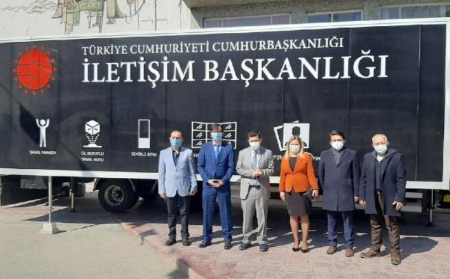 Dijital Tır, Burdur'da