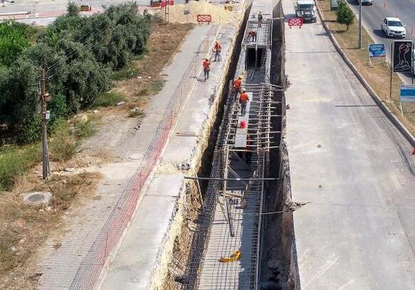 MESKİ, Vatan Caddesi'nin su baskını sorununa son verdi