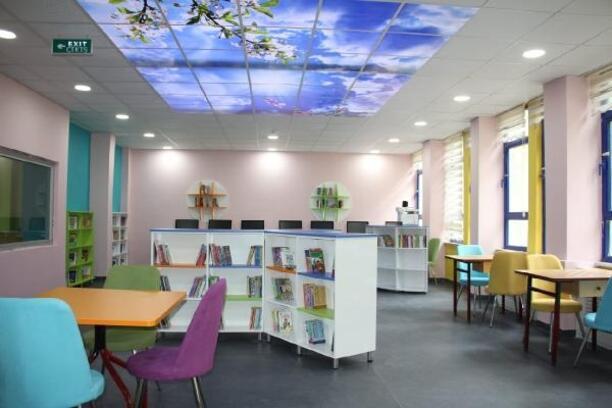 Erbaa'da, 4 okula daha Z kütüphane kuruldu