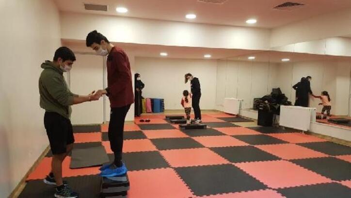 'Engel yok, spor var' projesiyle engelli vatandaşlara özel spor eğitimi