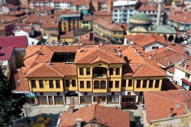 Çorum'da tarihi yapılar restore ediliyor