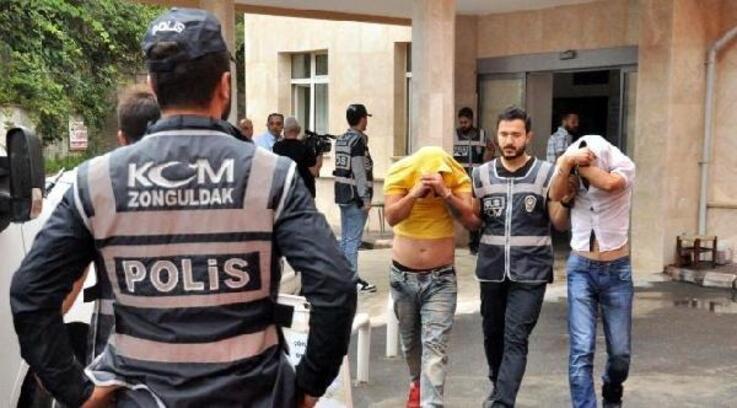 Zonguldak'ta 17 sanıklı uyuşturucu davasında karar verildi