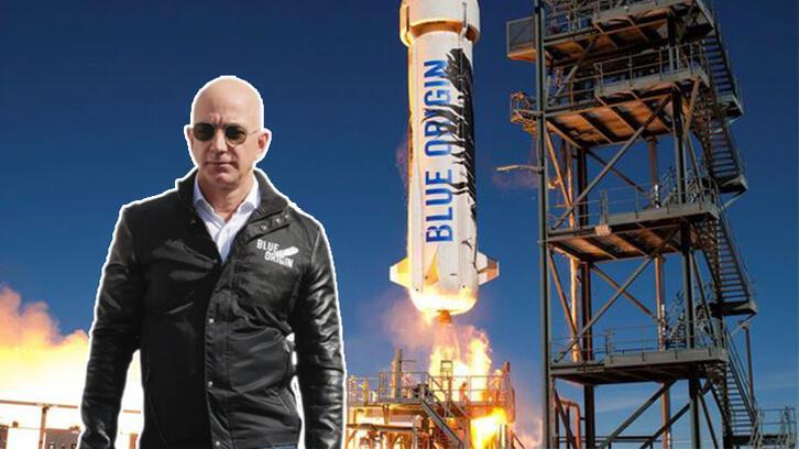 Jeff Bezos'un Blue Origin görevinde önemli test uçuşu