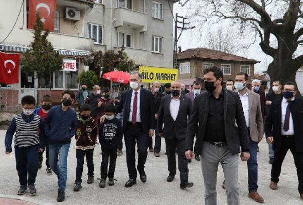 İnegöl'de Alibeyköy'e yeni meydan