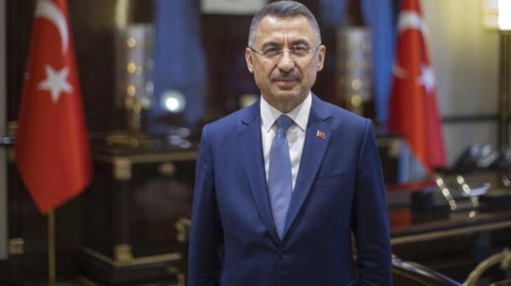 Cumhurbaşkanı Yardımcısı Oktay Kayra Sayit'i kutladı