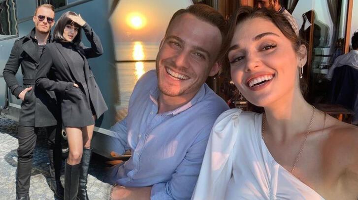 Hande Erçel ile Kerem Bürsin Maldivler'e mi gitti?