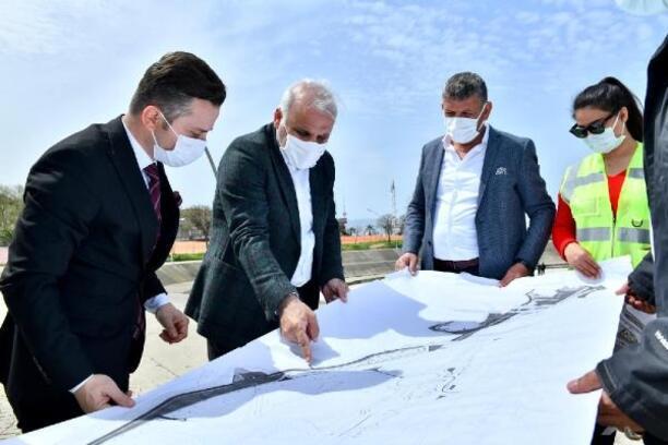 Ganita-Faroz sahili yenileniyor